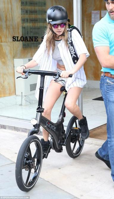 GoCycle & Cara Delevigne