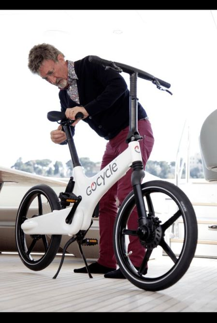 GoCycle & Eddie Jordan