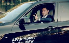TTT19 + Player Andrei Alecu + APAN Motors Dealer BMW